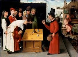 """Hieronymus Bosch """"il ciarlatano"""""""